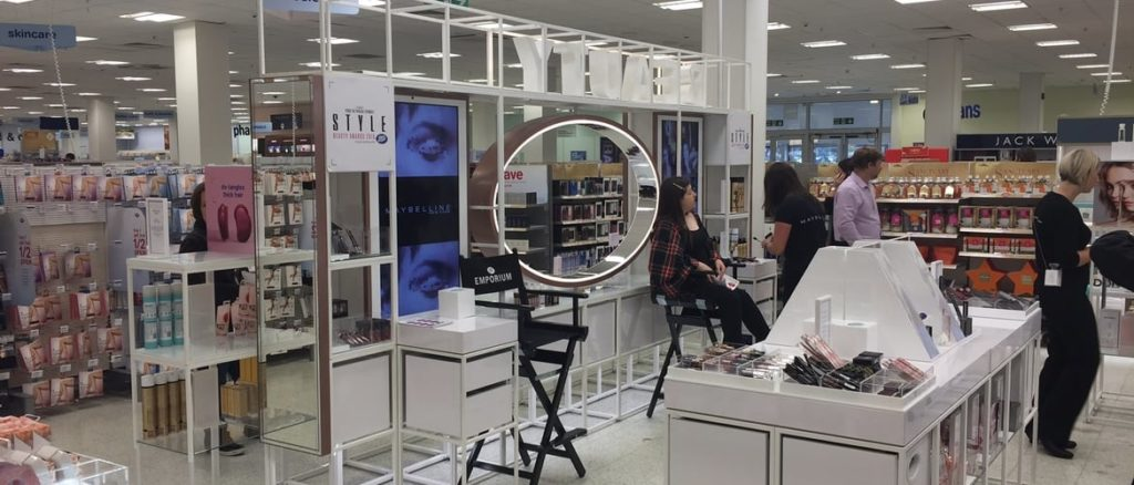 Boots Beauty In-store Installation Project 2016 | CJ Retail Solutions