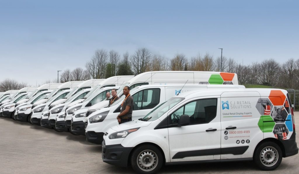 CJ Retail Solutions Van Fleet