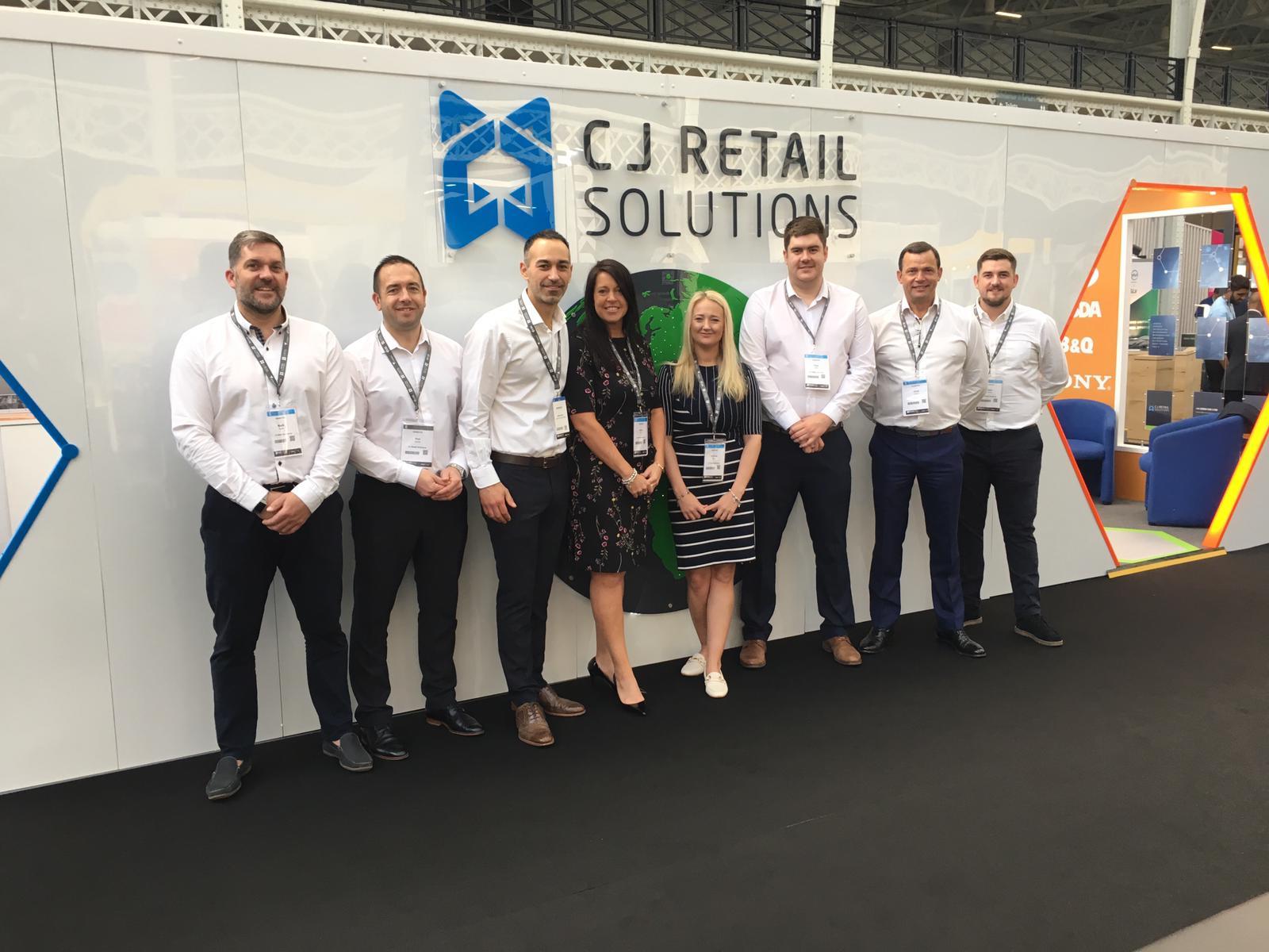 CJ Retail Solutions team at RetailEXPO 2019